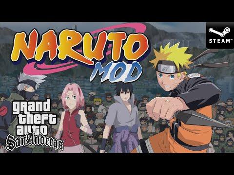 🔵 [NUEVO] Grand Theft Auto San Andreas: Gente De Konoha + Naruto Mod