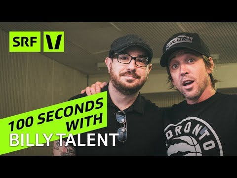 Billy Talent: 100 Seconds with Ben and Jordan