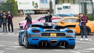 The £50 MILLION Car Meet! Cars and Coffee Returns to Topaz 2018