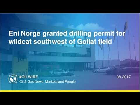 Eni Norge granted drilling permit for wildcat southwest of Goliat field