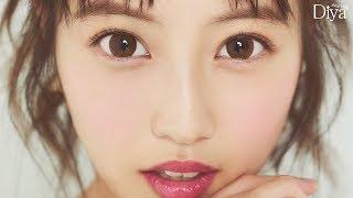 """今田美桜の瞳がキュートすぎる!ナチュラル、キュート、ゴージャス、ギャルに""""4変化"""" 「Diya1day」新ビジュアルメーキング映像が公開"""