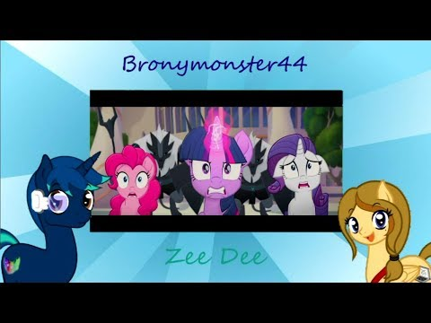 A Brony Couple Reacts - My Little Pony: The Movie - Official Trailer