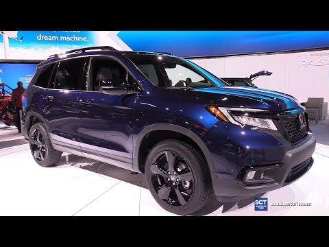 Honda Passport Elite AWD - Exterior and Interior Walkaround -  Detroit Auto Show