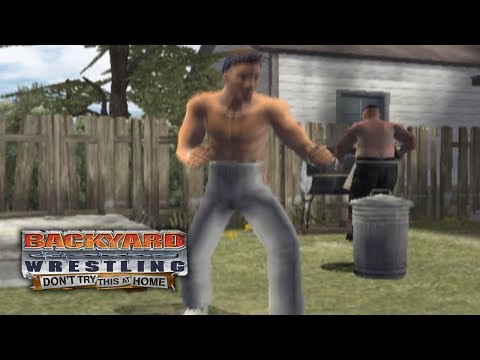 Backyard Wrestling: Don't Try This At Home Talk Show Mode Ep 1 | BACKYARD BEDLAM