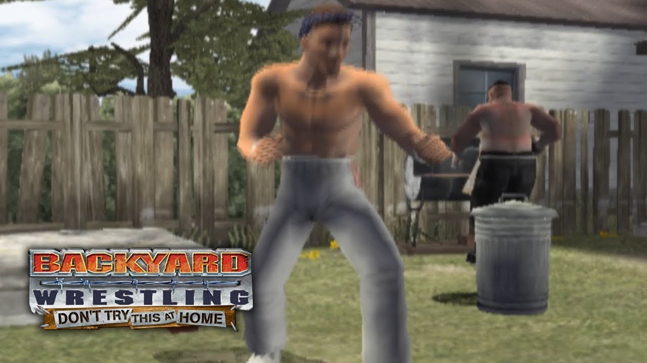 backyard wrestling don u0027t try this at home talk show mode ep 1