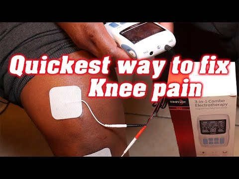 How To Get Rid Of Knee Pain Electrotherapy