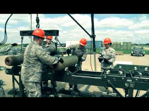 509th Munitions Conventional Build Global Strike Challenge Team