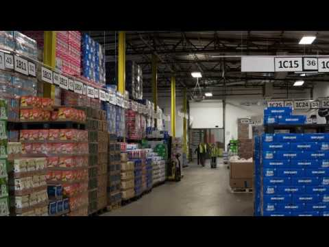 A Glimpse Inside a Beer Distributor's Warehouse