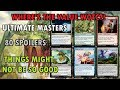 Ultimate Masters Preview Cards | Final 80 Spoilers