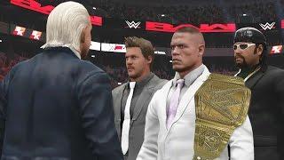 WWE 2K17 Story - John Cena Disbands The Corporation? - Ep.18