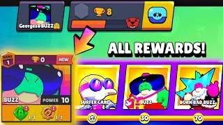 All Season 7 Rewards & Maxed Buzz on NEW ACCOUNT