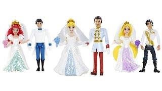 Disney Magiclip Fairytale Wedding Collection - Набор Игрушек Дисней «Сказочная Свадьба»