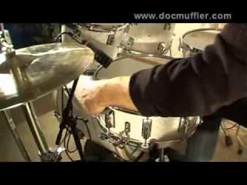 Doc Muffler - how to muffle your drumskin-