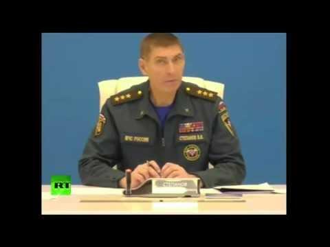 20:30 Селекторное совещание МЧС по крушению самолета «Когалымавиа»