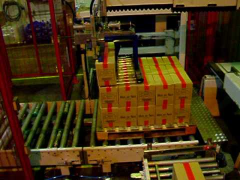 Engineered Packaging Systems Robot Palletiser