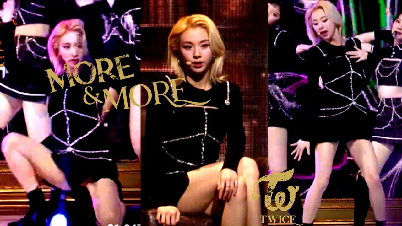 "210131 TWICE (트와이스) CHAEYOUNG (채영) "" MORE & MORE"" @ 30th High1 Seoul Music Awards"