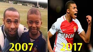 Mbappe - Transformation From 5 To 18 Years Old