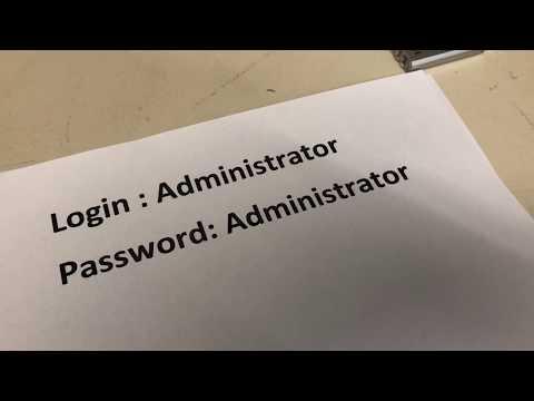 Windows XP WES09 Embedded Standart HP Thin Client Admin Administrator Login Password Kentwort