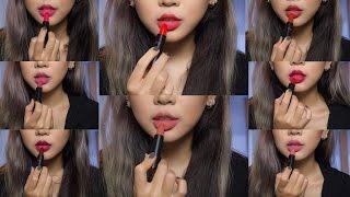 swatch review sophia the 1st ampoule matte lipstick
