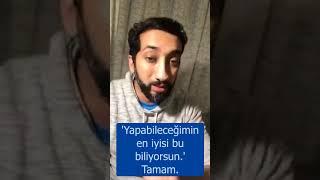 Memnuniyetsiz Anne Babalar Soru Cevap Nouman Ali Khan Türkçe altyazılı