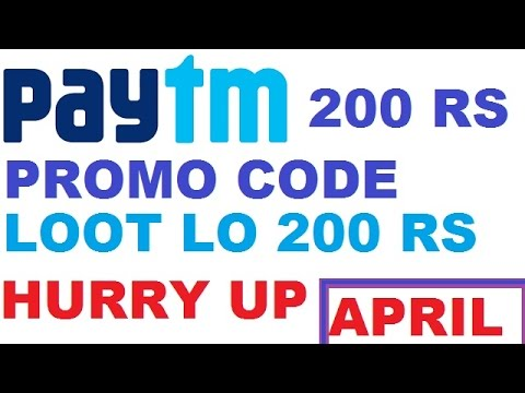 PAYTM APRIL 2017 PROMO CODE || GET 200 RS PAYTM CASHBACK IN 24 HOURS ||