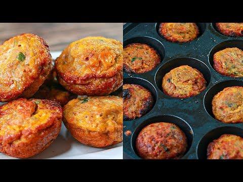 Egg Bites | Quick & Easy Breakfast Recipe | Anda Appe | Easy Snacks Recipe | Toasted