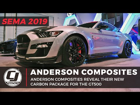 SEMA 2019 | Anderson Composites Reveal Their Ford GT500 Carbon Package!