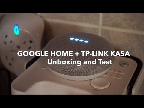 Google Home Mini + TP-Link Smart Wifi Plug Mini (KASA) Unboxing and Test -  Netcruzer TECH
