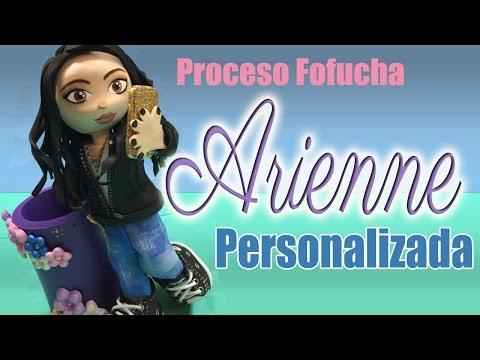 Proceso Fofucha Arienne personalizada - Custom fofucha process
