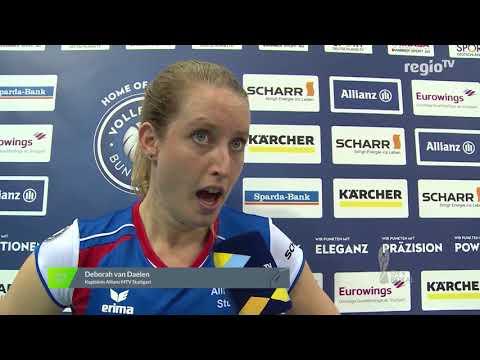 Nachbericht Pokal 1/2 Finale Allianz MTV Stuttgart vs VC Wiesbaden