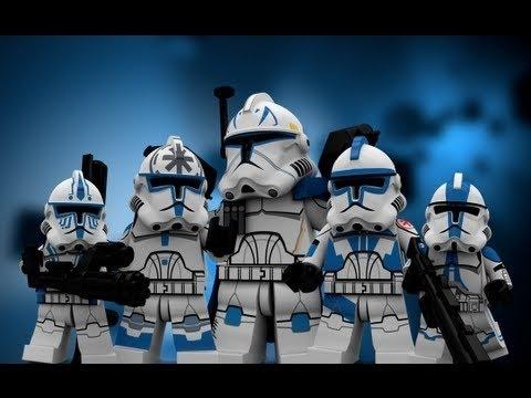 Clone Vs Stormtrooper Lego Star Wars Animation Youtube