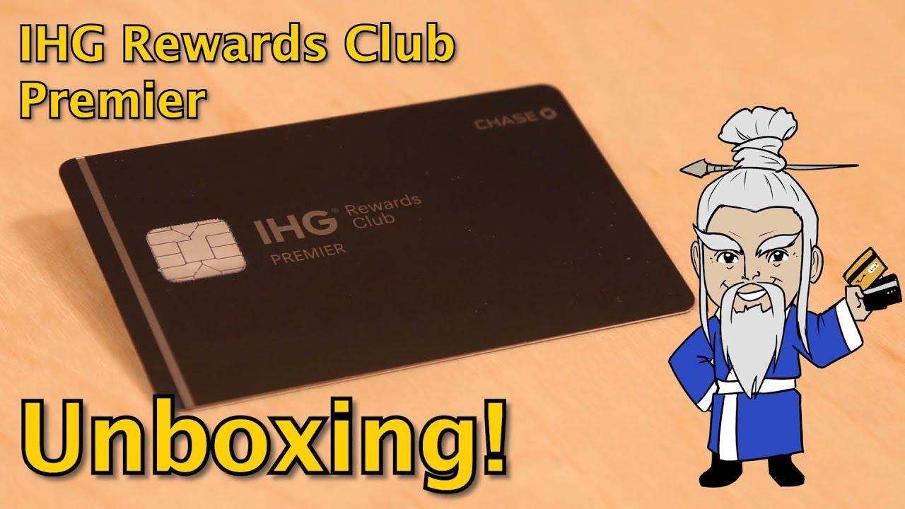 IHG Rewards Club Premier Card UNBOXING!