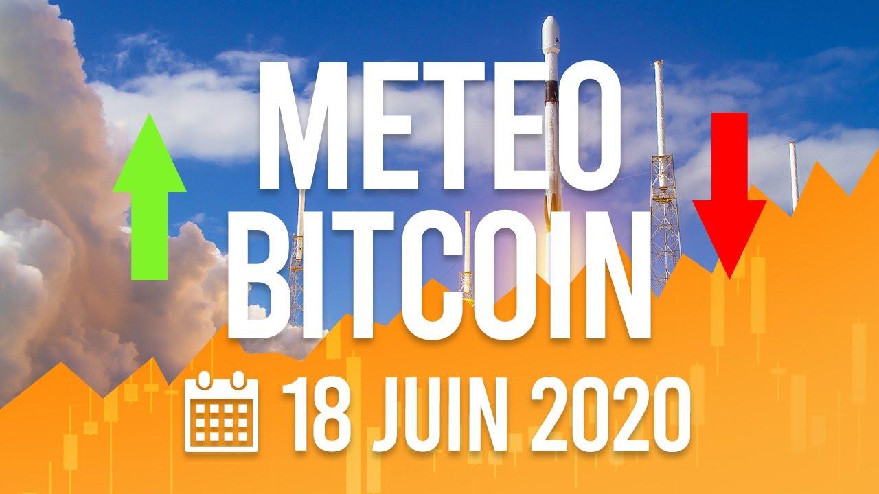 La Météo Bitcoin FR - 18 juin 2020 - Analyse Crypto Fanta