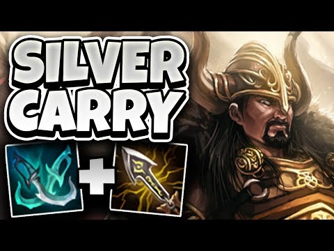 CHALLENGER TRYNDAMERE GOES SILVER! HOW FOGGEDFTW2 PLAYS IN LOW ELO - League of Legends Full Gameplay