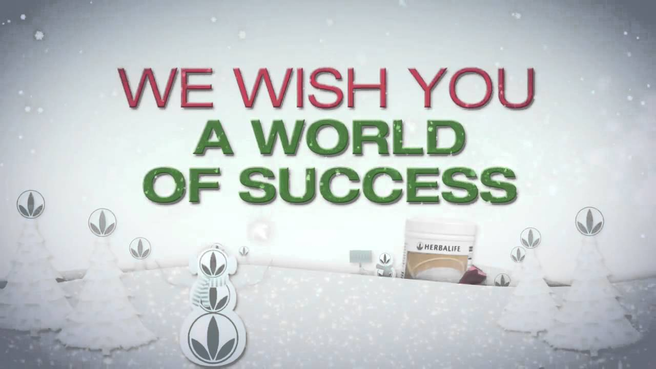 Christmas Ecard From Herbalife Merry Christmas YouTube