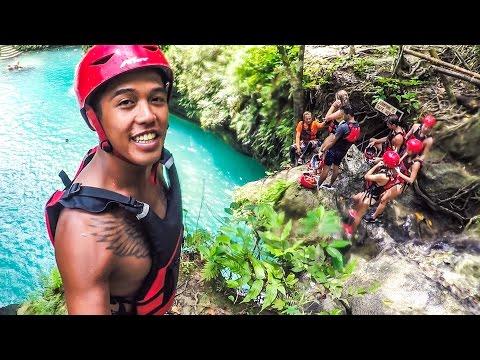 143   CANYONING KAWASAN FALLS!!!! (Southeast Asia Travel VLOG)