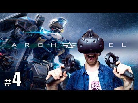 PACIFIC RIM SIMULATOR! | Archangel #4 - HTC Vive Gameplay