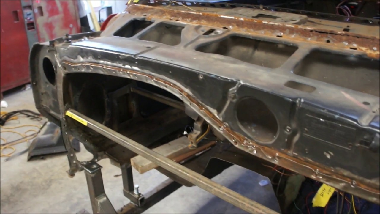 1968 Camaro Lower cowl removal