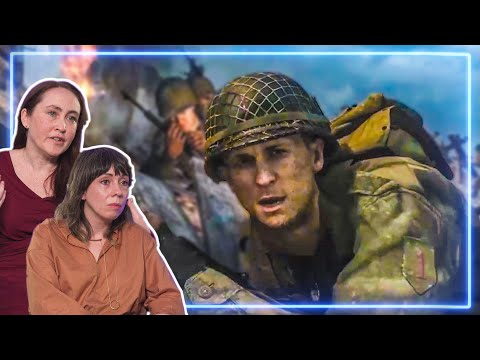 Historians REACT to Omaha Beach from Call of Duty WWII | Experts React
