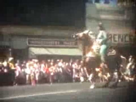 1957 PLACERVILLE CALIFORNIA OLD TOWN PARADE 16mm FILM