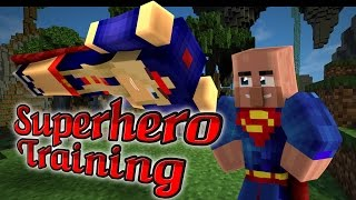 Superman & Supergirl Training - Hero Assort Course (minecraft Roleplay)