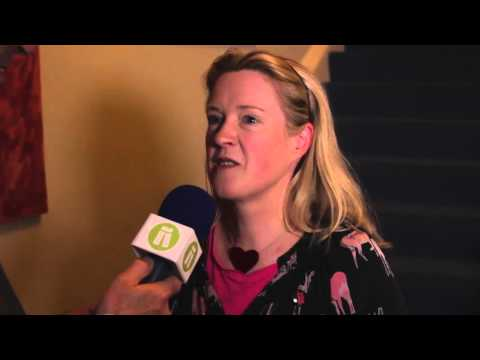 Interview with Sarah Webb at the Irish Writers Centre