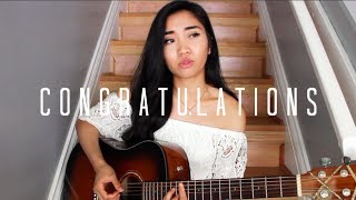 Download Congratulations x Post Malone ft. Quavo (Cover) MP3 song and Music Video
