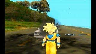 GTA SA EVOLUTION DOWNLOAD SKIN JOVEN GOHAN SSJ1 COM UNIFORME GOKU V2 FULL HD 1080p