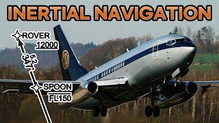 옛날 비행기의 하늘길 찾기 - 관성항법 도쿄 하네다 공…