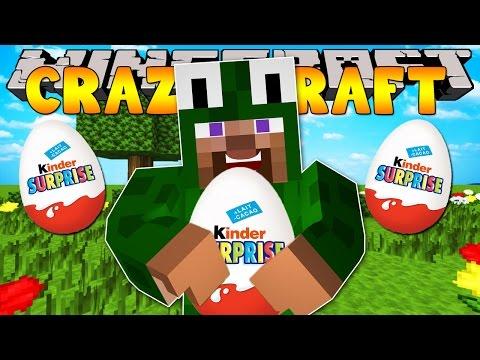 Minecraft Crazy Craft 3.0 : OPENING SURPRISE EGGS #28
