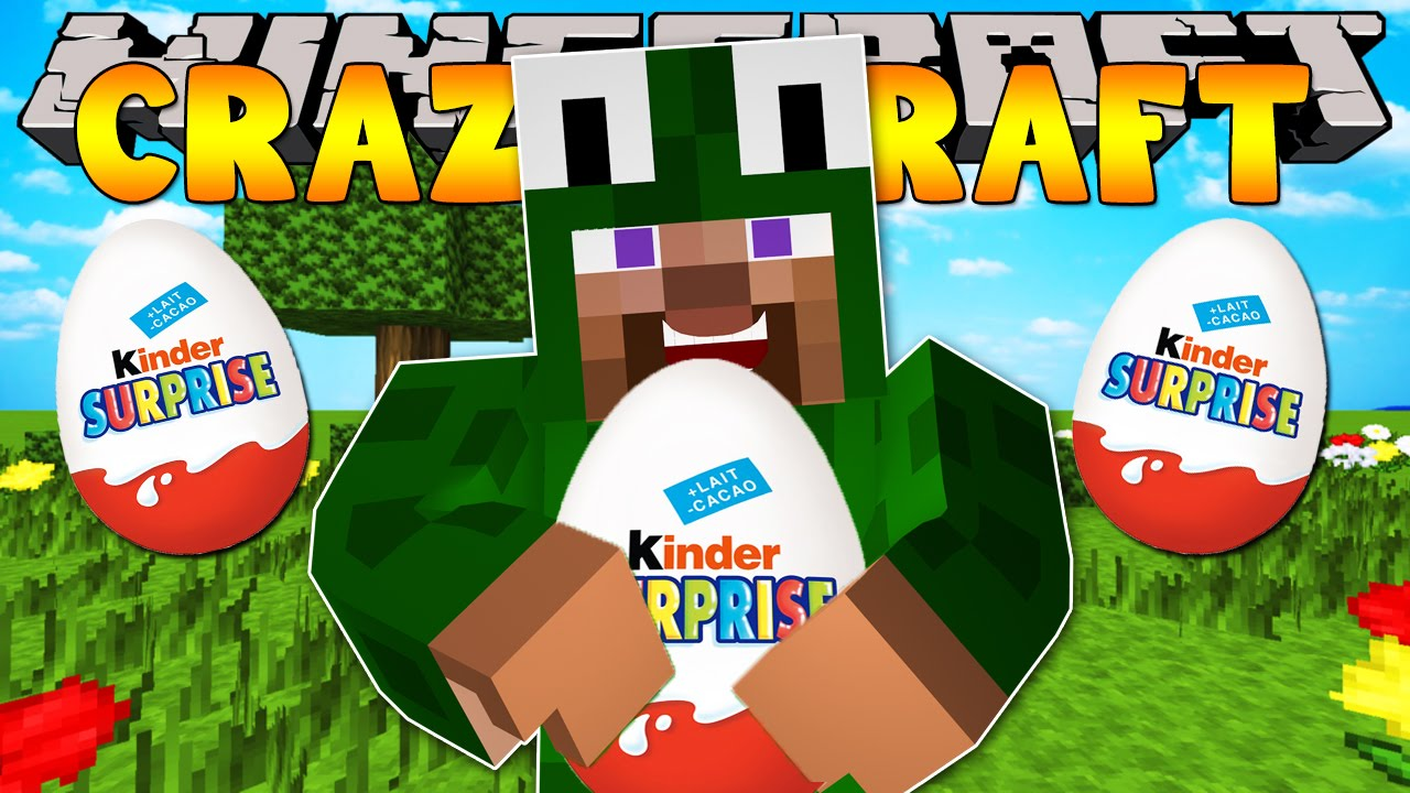 Minecraft crazy craft 3 0 opening surprise eggs 28 doovi for Http test voidswrath com modpacks crazy craft 3 0