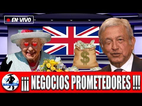 Mundo Financiero Eufórico: Reino Unido Quiere Quedarse Con Inversión En Mexico y Ofrece Millonada