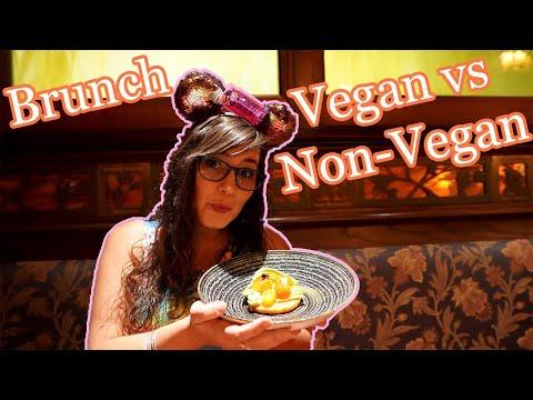 Le Cellier Brunch - Vegan & non-vegan food review - Epcot - Walt Disney World