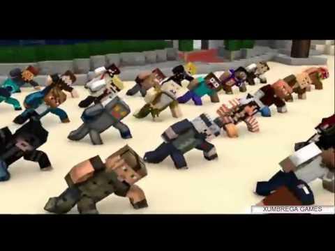 Funk- Ah lelek lek lek - Versão Minecraft